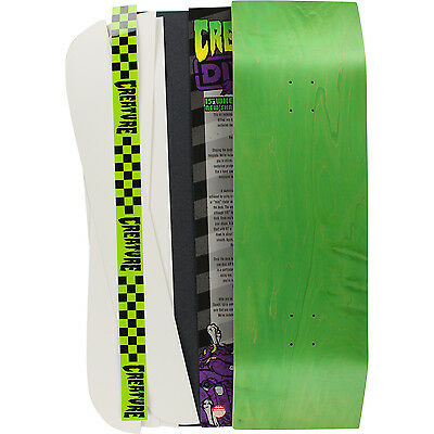 """Creature Skateboards DIY Deck Kit With Grip Tape - 10"""" x 33.55"""""""