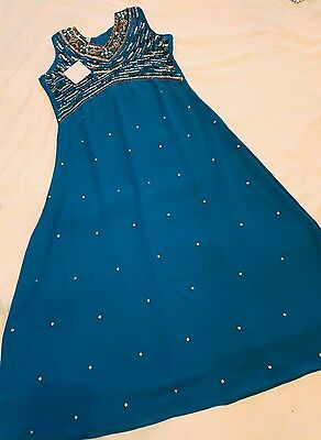 Child's - Long Dress/gown/anarkali Suit.. **brand New**