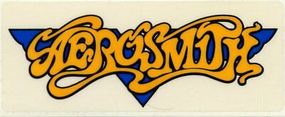 Aerosmith Fan Club Sticker Logo #3 EF