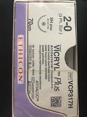 Nahtmaterial Ethicon Vicryl Coated Plus  2-0,VCP317H