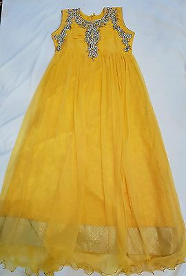 Child's Long Dress/gown/anarkali Suit  **brand New**