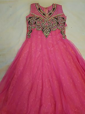 CHILD'S LONG DRESS with PAJAMI/ANARKALI SUIT**BRAND NEW**