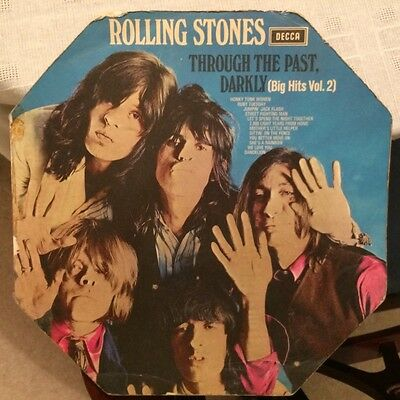 "Rolling Stones - ""Through The Past Darkly"" - LK 5019 - (MONO) 1969  WITH DEFECTS"