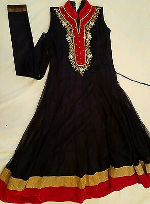CHILD'S LONG DRESS with PAJAMI/ANARKALI SUIT   **BRAND NEW**
