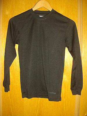 Campri ~ Girls Black Long Sleeved Top ~ Sports ~ Running ~ Age 11-12 Years