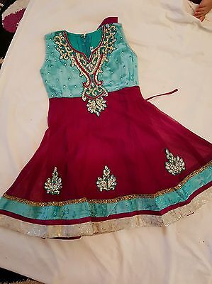 CHILD'S DRESS with PAJAMI/ANARKALI SUIT    **BRAND NEW**