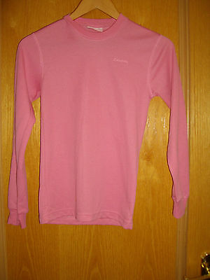 Campri ~ Girls Pink Long Sleeved Top ~ Sports ~ Running ~ Age 11-12 Years