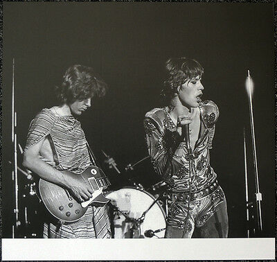 The Rolling Stones Poster Page Mick Jagger & Mick Taylor . Y48