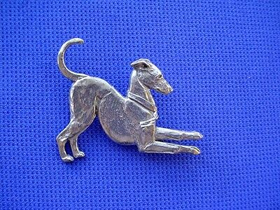 Italian greyhound pin PLAYING whippet #12C Pewter Dog Jewelry b Cindy A. Conter