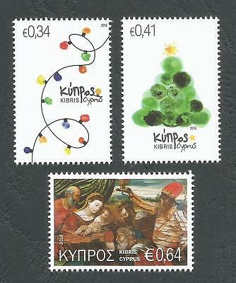 Cyprus Stamps SG 2016 Christmas MINT - NEW