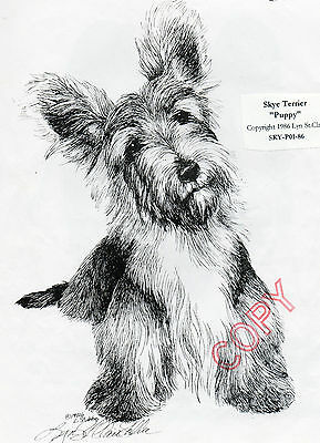 Sky Terrier Limited Edition Print by Lyn St.Clair