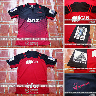 2016 17 New Zealand NRL Jersey Jersey Crusaders Rugby Jersey