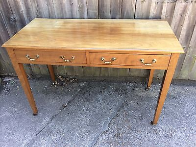 Antique Edwardian Converted Dressing Table To Side Table / Writing Desk Mahogany