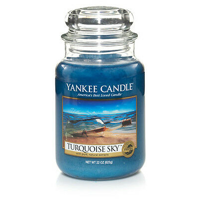 Yankee Candle Large Jar Scented Candle - Turquoise Sky