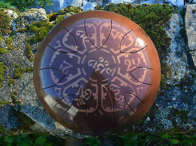 AM Drum - READY MADE - QUICK DELIVERY - steel tongue drum hank tank handpan