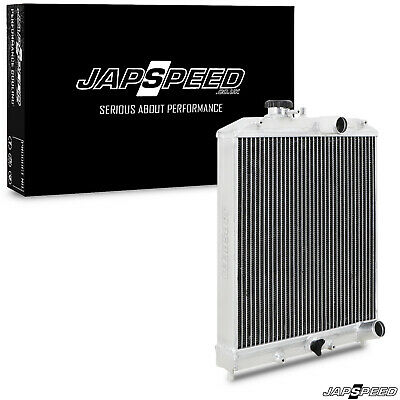 Japspeed 45Mm Lightweight High Flow Aluminium Radiator For Honda Civic 92-00