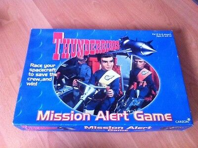Thunderbirds Board Game From The  Original 1970s TV Show Complete