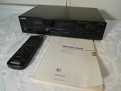 Sony MDS-JB920 High End MiniDisc Player & Recorder - Very Good Condition