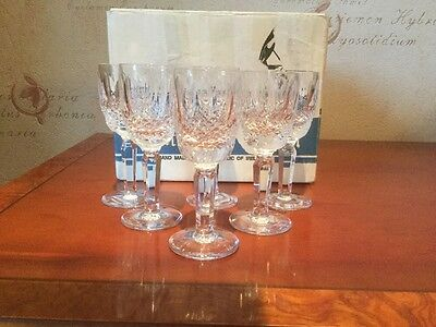 Waterford Crystal Colleen Tall Liqueur Glasses