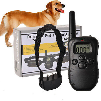 Electronic Dog Collar Remote Control  With Display Electronic Dog Collar bos