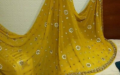 Size 8 ready stiched  saree