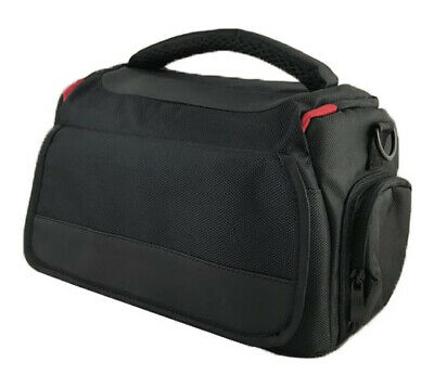 DSLR Camera Shoulder Bag Case For Nikon D3400 D3000 D3100 D3200 D3300 (Black)