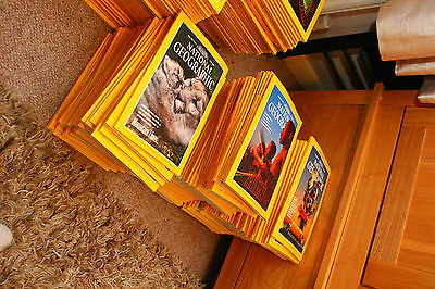 National Geographic Magazines - All 1990`s