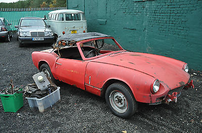 1969 Mk3 Triumph Spitfire Project For Restoration Spare Repairs Barn Find