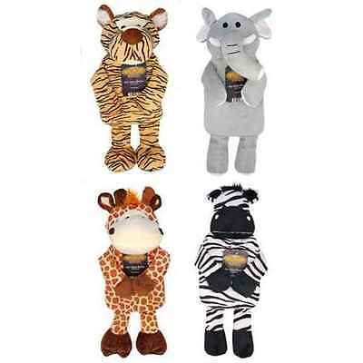 Choice 4 Zoo Animals Microwaveable Heat Pack Warmer Zebra Tiger Giraffe Elephant