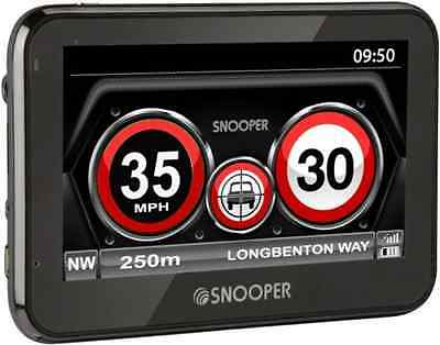 New Snooper My-Speed XL Europe Driver GPS Speed Camera/Limit Alert Detector 4.3""