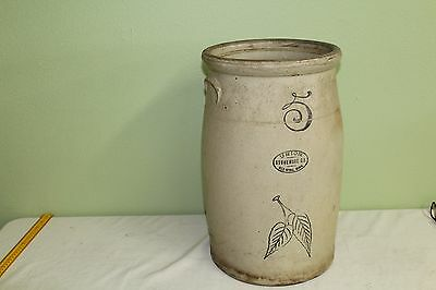 Very Rare Vintage Red Wing 5 Gal Stone Ware Butter Churn Crock