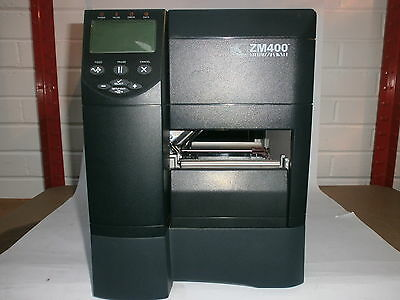 Zebra ZM400 200dpi Thermal Label/Barcode Printer (POWER ON TESTED ONLY)