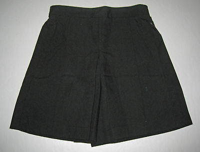 NEW Girl school uniform Skort Culotte Black Sz 5 to 16