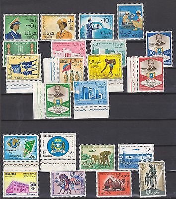 Somalia 1963, 1964 lot MNH stamps see scan for detail