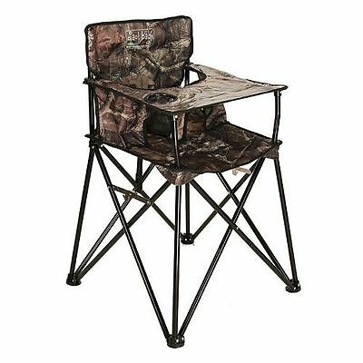 New Ciao Baby Portable High Chair Foldable Travel Mossy Oak Camo
