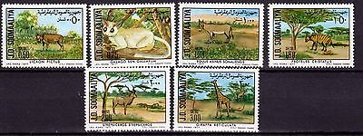 Somalia 1977 animal set, MNH