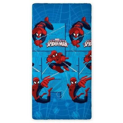 MARVEL SPIDER MAN 02 SINGLE FITTED SHEET 90cm x 200cm 100% COTTON