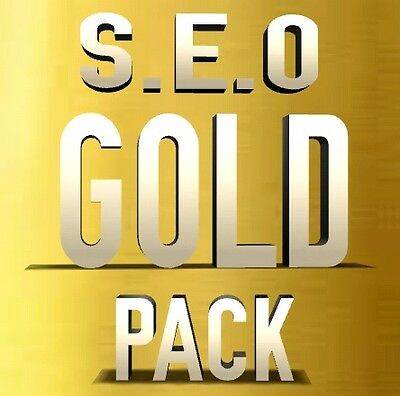 """SEO GOLD PACKAGE""  get your website ranked higher in google...backlinks..seo"