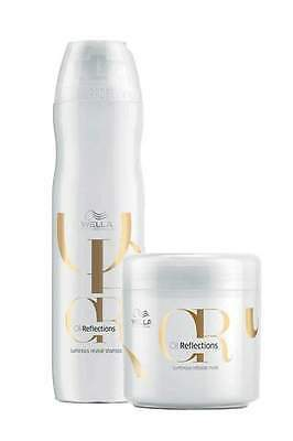 Duo Shampooing et Masque Oil reflections Wella