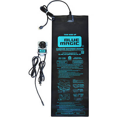 Blue Magic Solid State Hardside Waterbed Heater - Free Waterbed Conditioner