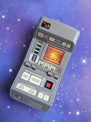 Star Trek The Next Generation Custom Tricorder Electronic Playmates Toy Prop