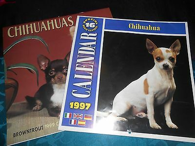 Chihuahua Dogs 1997 and 1999 Calendars (Used)
