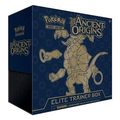 Pokemon Tcg Ancient Origins Elite Trainer Box English New Includes Booster Packs
