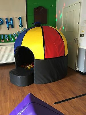 Soft Play Disco Ball Pit/sensory Dome/ Bouncy Castle