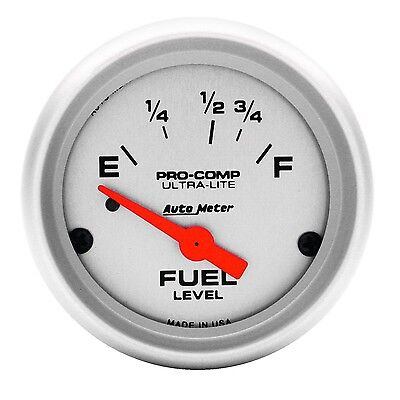 AutoMeter 4315 Ultra-Lite Electric Fuel Level Gauge