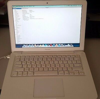 "APPLE MACBOOK 13"" A1342 Mid 2010 Core 2 Duo 2.4Ghz 4GB RAM 250GB HDD"