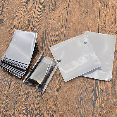 100 Pcs Esd Anti-static Transparent Open Top Bags Storage Bag Pouch Replacement