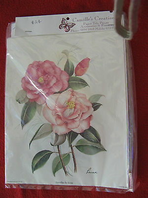 Georgeous Camellia Paper Tole To Make Plus Quality Paper Tole Frame
