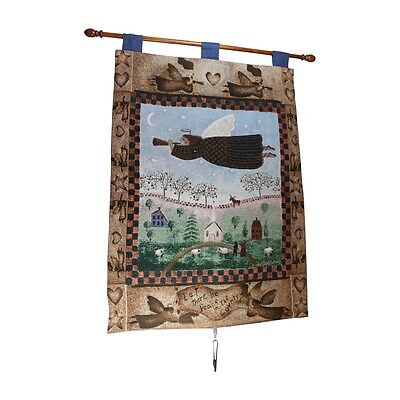 Angel Hanging Wall Quilt Acrylic-Polyester 26W x 36L | Renovators Supply