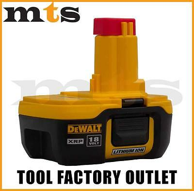 Dewalt Dc9182 18V Lithium Ion Nano Xrp Battery Made In Japan Lighter Than Dc9180